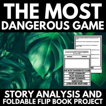 Most Dangerous Game - Short Story Foldable Flip Book Project