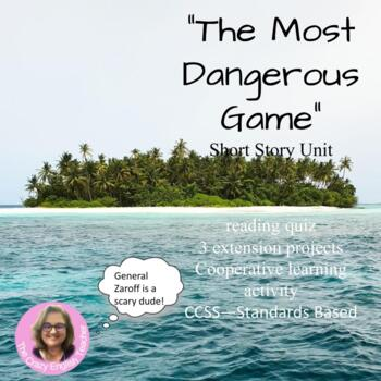 The Most Dangerous Game Short Story Package: Common Core CCSS