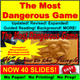 The Most Dangerous Game Short Story PowerPoint