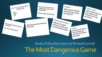 The Most Dangerous Game- Study of the short story by Richard Connell