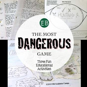 The Most Dangerous Game Supplemental Activities