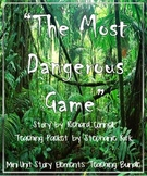 The Most Dangerous Game Teaching Bundle with Common Core W