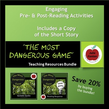 The Most Dangerous Game - Teaching Resources Bundle