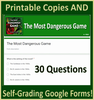View The Most Dangerous Game Quiz  Gif