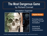 """Most Dangerous Game"" by Richard Connell: Annotation Organizer"