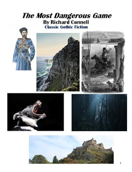 The Most Dangerous Game by Richard Connell Workbook