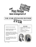 The Most Flexible Band Arrangement of the Star-Spangled Banner Ever