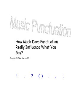 The Most Fun You Can Have With Punctuation
