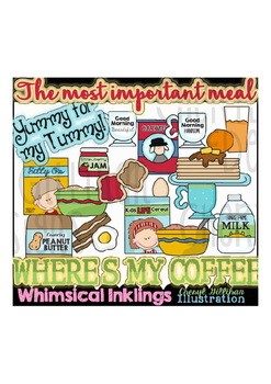 The Most Important Meal Breakfast Clipart Collection