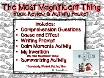 Growth Mindset - The Most Magnificent Thing - Story Elements