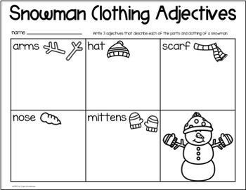 The Most Perfect Snowman Book Companion