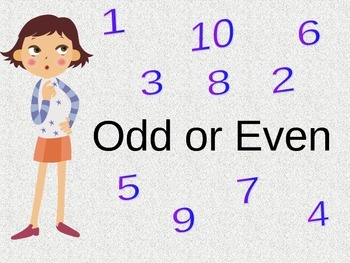 The Most Successful Method to Teach Odd or Even in one lesson.