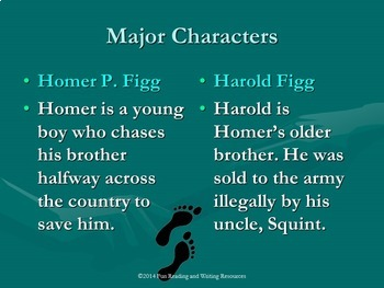 The Mostly True Adventures of Homer P. Figg PowerPoint