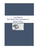 The Mostly True Adventures of Homer P Figg Literature and Grammar Unit