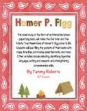 The Mostly True Adventures of Homer P. Figg Novel Study Brown Bag Book