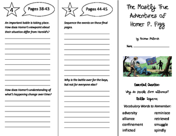 The Mostly True Adventures of Homer P. Figg Trifold - Wond