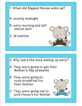 The Mother's Day Mice: Literacy Activities