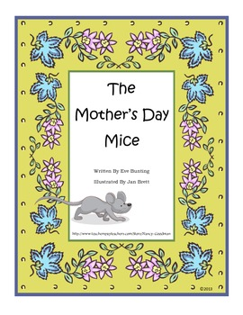 The Mother's Day Mice by Eve Bunting unit for spring