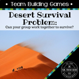 Team Building Activities: Survival and Group Communication (Desert)