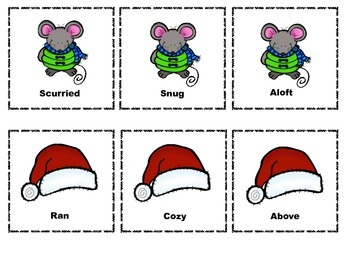 The Mouse Before Christmas: Using Context Clues {FREEBIE}
