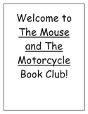 The Mouse and The Motorcycle Book Club