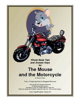 The Mouse and the Morotcycle Whole Book Test