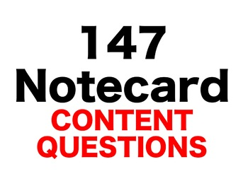 The Mouse and the Motorcycle 147 Content Questions Whiteboard Game