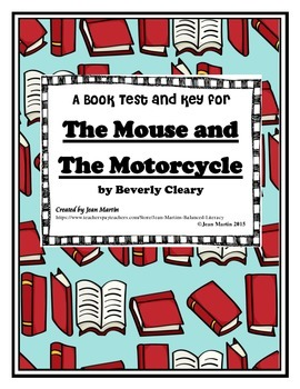 The Mouse and the Motorcycle : A Book Test and Key