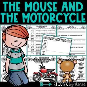 The Mouse and the Motorcycle Book Questions & Vocabulary