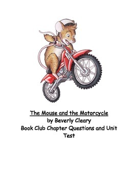 """""""The Mouse and the Motorcycle"""" Chapter Questions"""