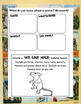 The Mouse and the Motorcycle  ELA Novel Study Guide Teaching Unit