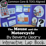 The Mouse and the Motorcycle Interactive Novel Study (Notebook or Lap Book)