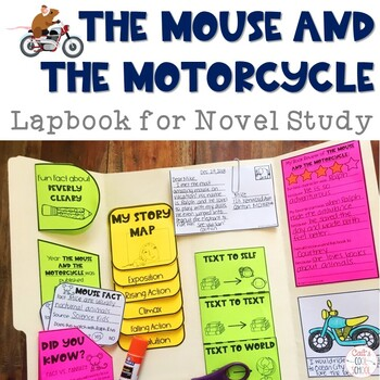 The Mouse and the Motorcycle Lapbook for Novel Study