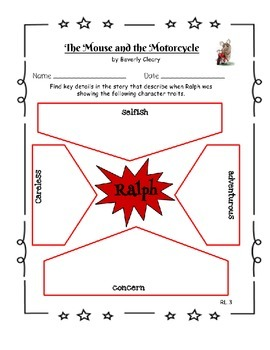 The Mouse and the Motorcycle Literature Guide - Aligned with Common Core