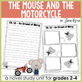 The Mouse and the Motorcycle Novel Study {Common Core-Alig