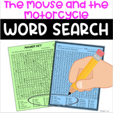 The Mouse and the Motorcycle Novel Study Word Search