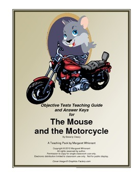 The Mouse and the Motorcycle  Objective Tests Teaching Guide