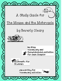 The Mouse and the Motorcycle Study Guide