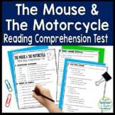 The Mouse and the Motorcycle Test: Final Book Quiz with Answer Key