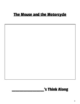 The Mouse and the Motorcycle Think Along