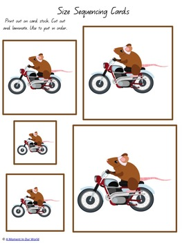The Mouse and the Motorcycle Tots to Prep Mini Pack