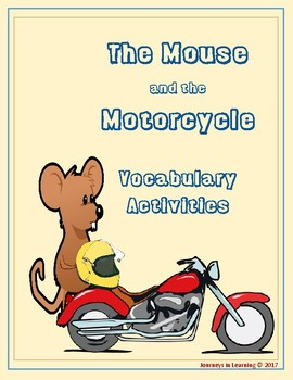The Mouse and the Motorcycle Vocabulary Activities