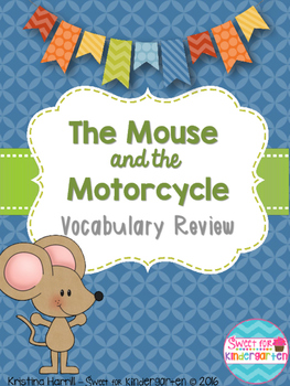 The Mouse and the Motorcycle Vocabulary Review