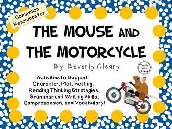 Mouse And The Motorcycle Art Projects