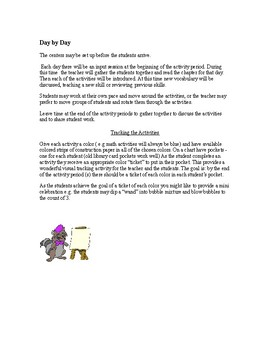The Mouse and the Motorcycle by Beverly Cleary - novel study