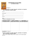 The Mouse & the Motorcycle Literature guide in SPANISH