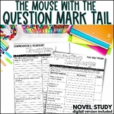 The Mouse with the Question Mark Tail Novel Study
