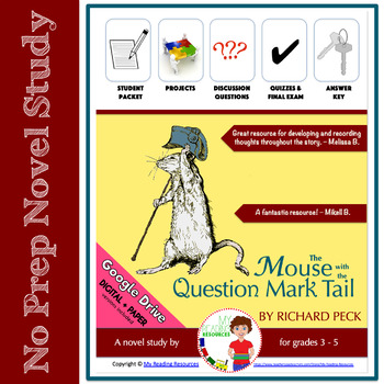 The Mouse with the Question Mark Tail Novel Unit