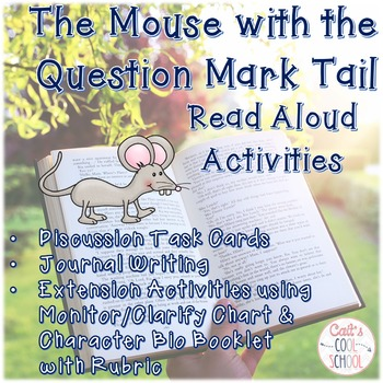 The Mouse with the Question Mark Tail Novel Study Activities