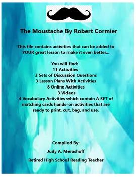 The Moustache By Robert Cormier